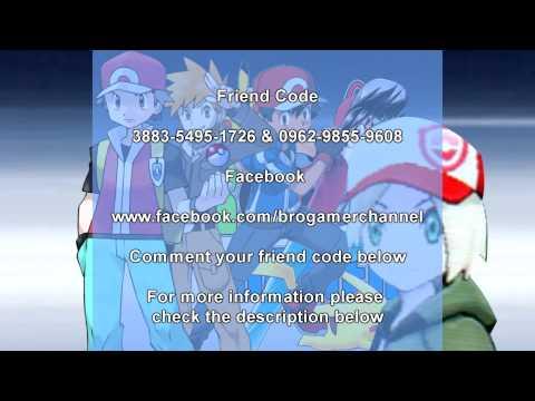 Pokemon X and Y Friendcode