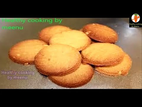 Atta Biscuit eggless without oven