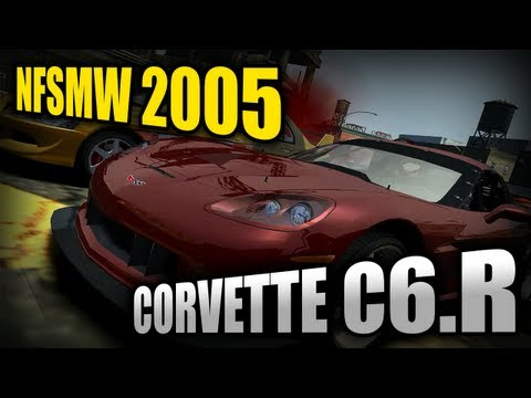 Need for Speed Most Wanted (2005) - Corvette C6.R [Bonus Car]