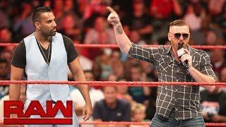 Heath Slater vs. Jinder Mahal: Raw, Aug. 1, 2016