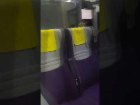 Heathrow Express in tunnels