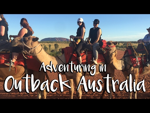 ALMOST GOT EATEN ALIVE BY BUGS | Uluru/Ayres Rock, Northern Territory, Central Australia Vlog