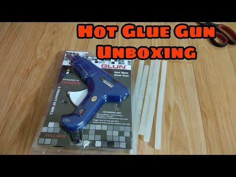 Hot Glue gun unboxing !!My new glue gun!!