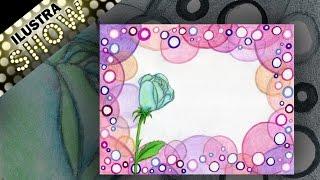 Como Decorar Carta De Amor Explosion De Flores Dibujar
