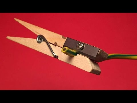 How To Make A Handy Wire Stripper - DIY Crafts Tutorial - Guidecentral