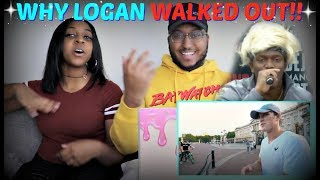 """Logan Paul """"DEAR KSI, HERE'S WHY I WALKED OFF STAGE"""" REACTION!!!"""