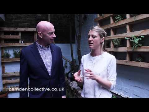 Camden Town Unlimited, An Edible Courtyard Garden Vlog
