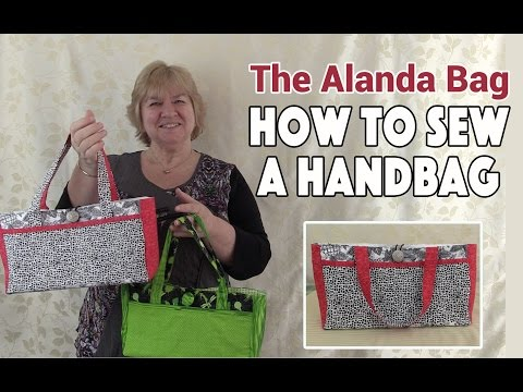 Handbag Tutorial: The Alanda Bag (Sewing Tutorial)