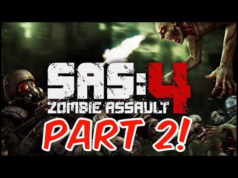 SAS: Zombie Assault 4 - Gameplay! | Massive Horde! (Part 2)