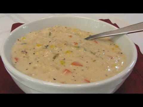 Creamy Chicken and Rice Soup -- Lynn's Recipes