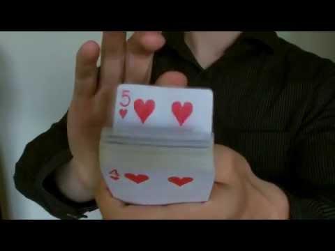 David Blaine Card Trick Tutorial #1