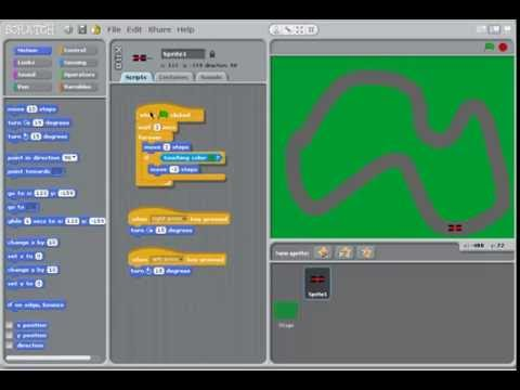 how to make a f1 car game on scratch