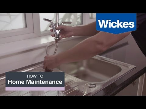How to Remove and Replace a Kitchen Tap with Wickes
