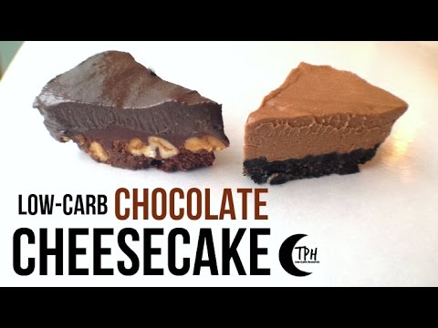 Keto Chocolate No-Bake Cheesecake   Low-Carb Chocolate Cheesecake Recipe