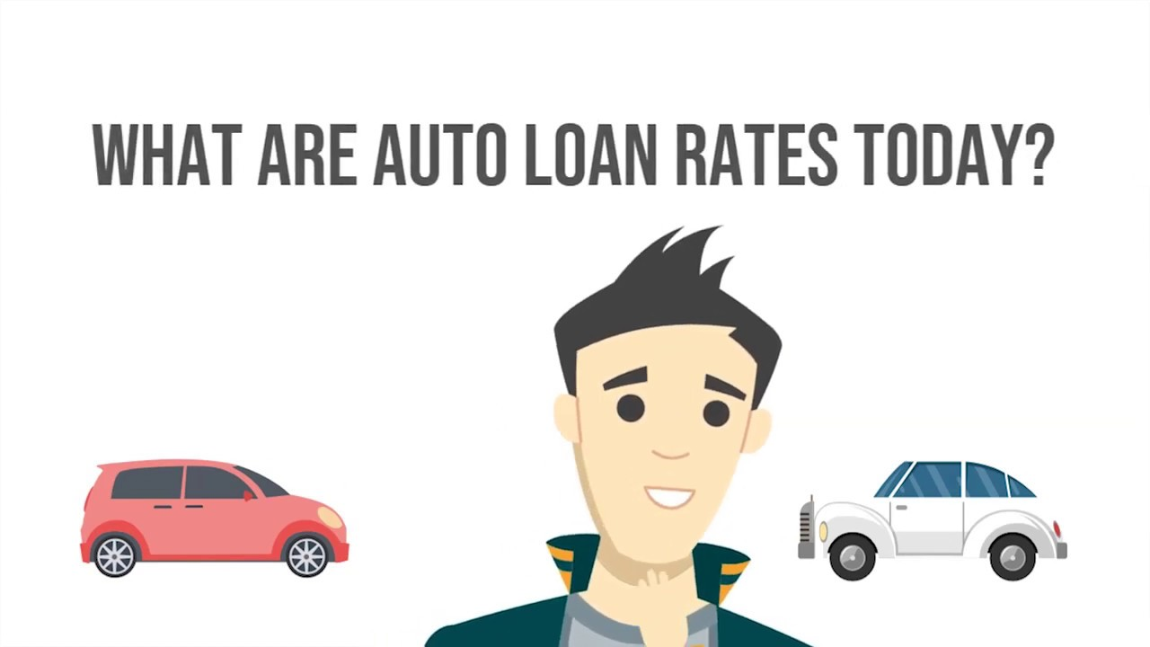 What are auto loan rates today