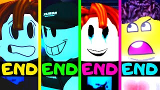 Roblox - All 4 Endings - Piggy Game Guesty!
