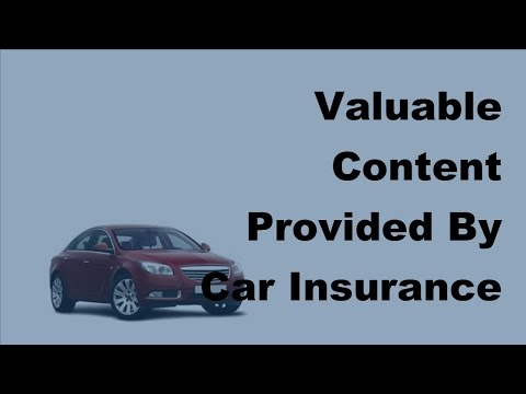 Valuable Content Provided By Car Insurance Videos -  2017 Car Insurance Tips