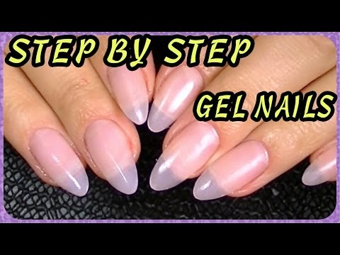 How to Oval, Almond-Shaped, Stiletto Nails How I Do My Gel Nails