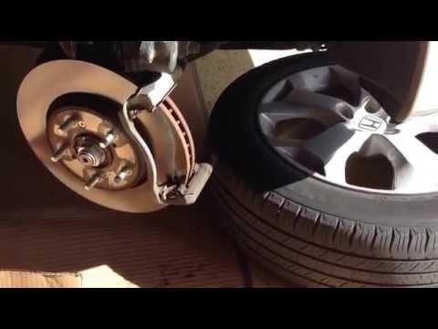 Changing Brake pads on 2010 Honda Accord Crosstour
