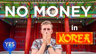 I Spent 24 Hours in Korea with No Money