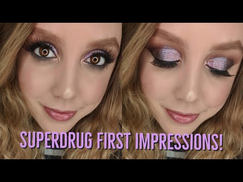 First Impressions from Superdrug!!