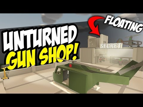 SECRET SKY SHOP - Unturned Gun Store | Shop Roleplay!
