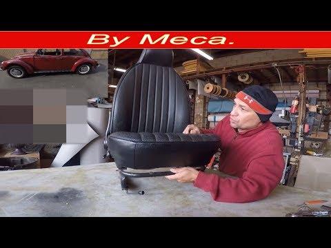 How to make a Volkswagen beetle  bucket seats covers . DIY