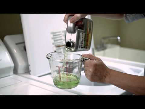 How to clean your washing machine with CLR Calcium, Lime & Rust Remover