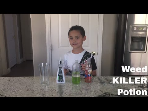 How to Make Weed KILLER Potion!!!