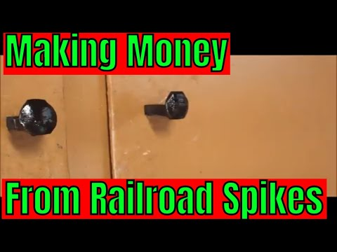 How to make drawer/cabinet knobs from railroad ties