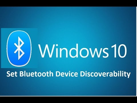 Set Bluetooth Device In Windows 10! - Howtosolveit