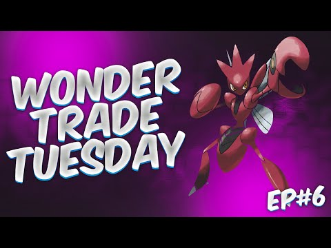 Wonder Trade Tuesday #6: SCIZOR! LIVE! (Pokemon Omega Ruby & Alpha Sapphire)