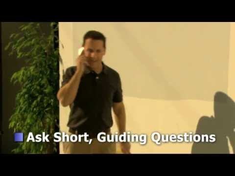 Dealing with Irate Customers: Asking Short Guiding Questions...