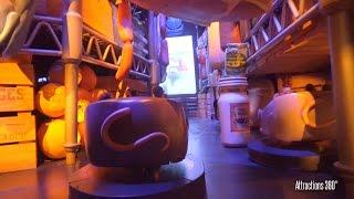 [4K] Trackless Ride - Ratatouille Ride - Disneyland Paris