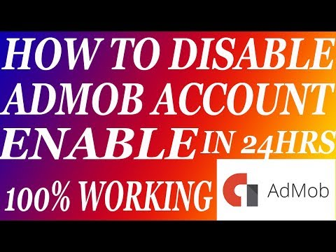 How To Disable AdMob Account Enable In 24 HRS 100% Working