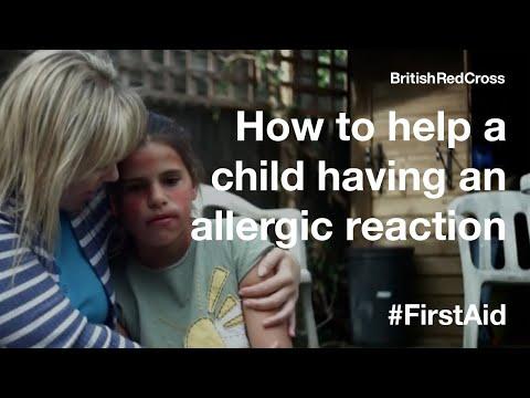 Children First Aid: Allergic Reaction