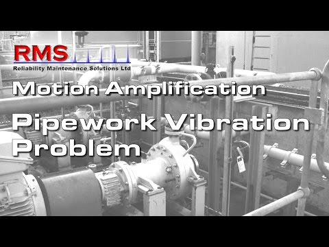 Motion Amplification - Pipework Problem Excessive vibration