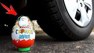 EXPERIMENT: CAR VS Kinder MAXI