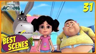 BEST SCENES of VIR THE ROBOT BOY | Animated Series For Kids | #31 | WowKidz Action