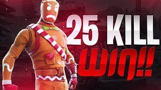 25 KILL WIN (Solo VS Duos) - Fortnite Battle Royale