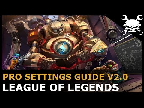 League of Legends Pro Graphics & Settings Guide V2.0 (OPTIMAL SETTINGS GUIDE!) - Gidrah