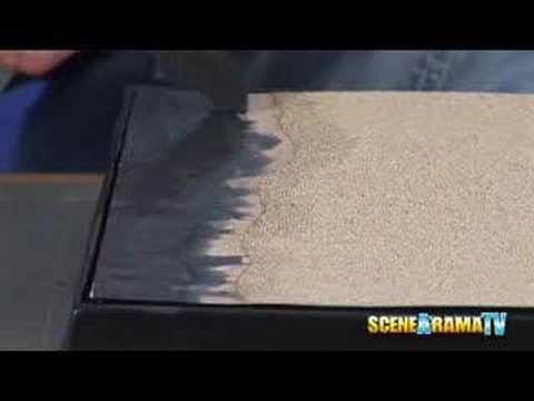 How To Build A Desert Diorama (Part 1) - School Project | Scene-A-Rama