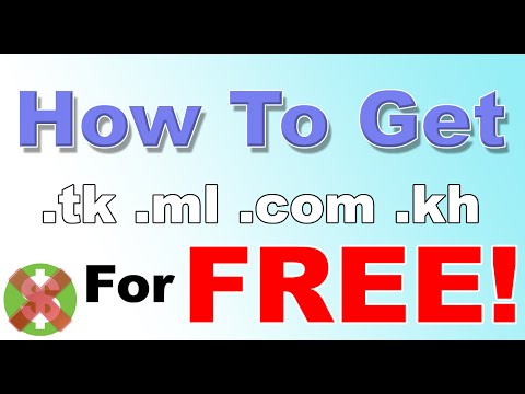 How To Add Custom Domain Name .tk For Free in Blogger.