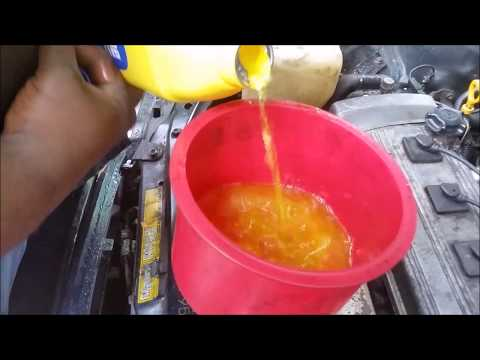 How To Fill Up  Radiator Coolant  And Bleed Air Out The Cooling System