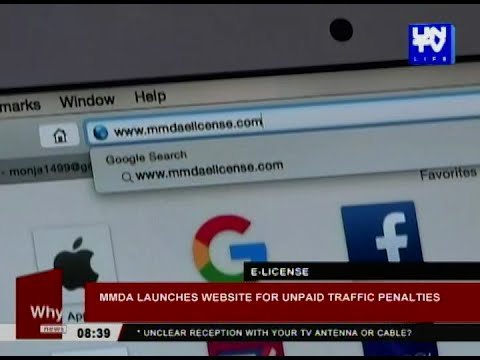 MMDA launches website for unpaid traffic penalties