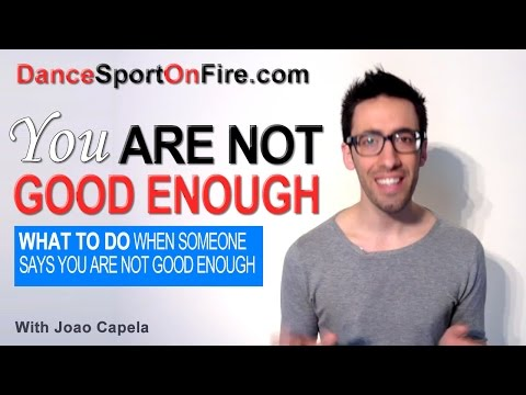 You Are Not Good Enough… Are you? – A Very Inspiring Story that You Should Listen