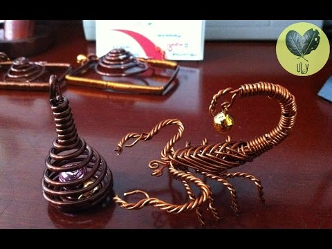 How To Make Scorpion With Copper Wire