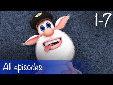 Booba - Compilation of All 7 Full episodes + Bonus - Cartoon for kids