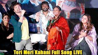 Ranu Mondal-Himesh Reshamiya Finally Sing Teri Meri Kahani Full Song LIVE T0GETHER on Stage
