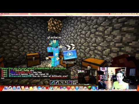Minecraft MineTime SkyBlock #6: Making A Shop!